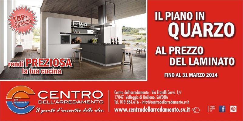 Centro Dell Arredamento Savona.Piano Al Quarzo Al Prezzo Del Laminato Al Centro Dell Arredamento
