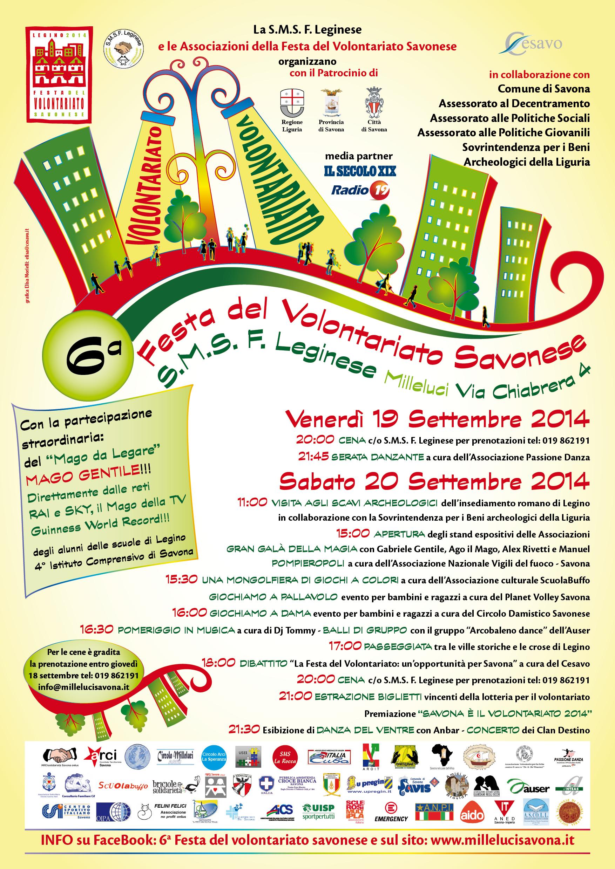 Legino (SV)-6° Festa del Volontariato Savonese