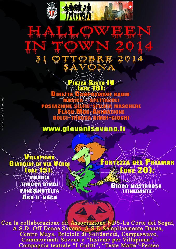 Savona- Halloween In Town