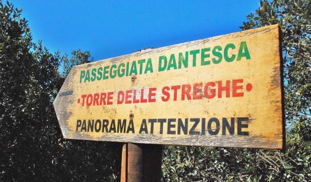 Noli- Passeggiata Dantesca