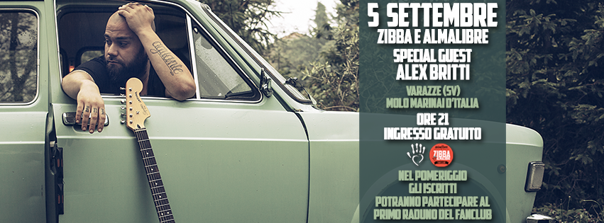 Varazze – Zibba e Almalibre in concerto con Alex Britti