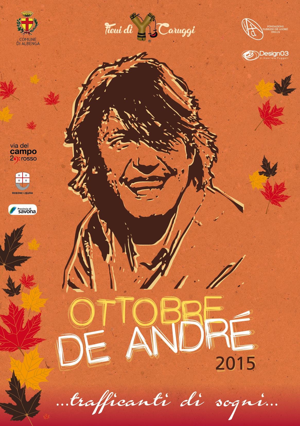 Albenga-Ottobre De Andrè-Programma