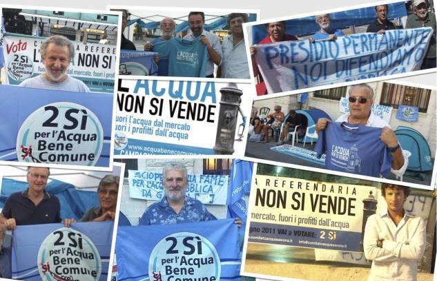 """Savona-Alla Ubik """"L'acqua non si vende, si difende!"""""""