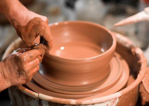 Lavorazione Della Ceramica.Finale Ligure Laboratorio Di Lavorazione Della Ceramica