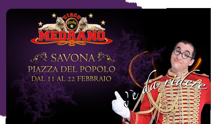 Il Circo Medrano a Savona