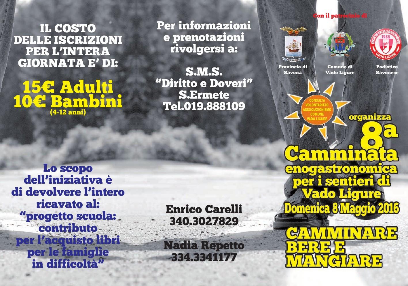 Sant' Ermete (Vado Ligure)-Camminata enogastronomica