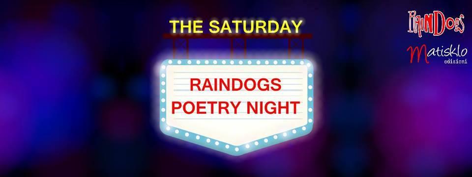 Savona-The Saturday Raindogs Poetry Night