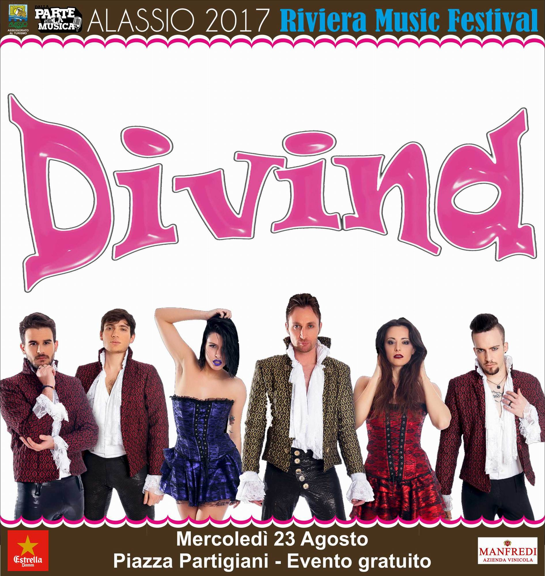 Alassio – I Divina al Riviera Music Festival