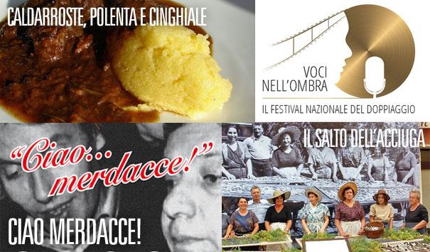 Salto dell'Acciuga, Voci Nell'Ombra, Ottobre De Andrè, Castagnate… trovi tutto su SVD!