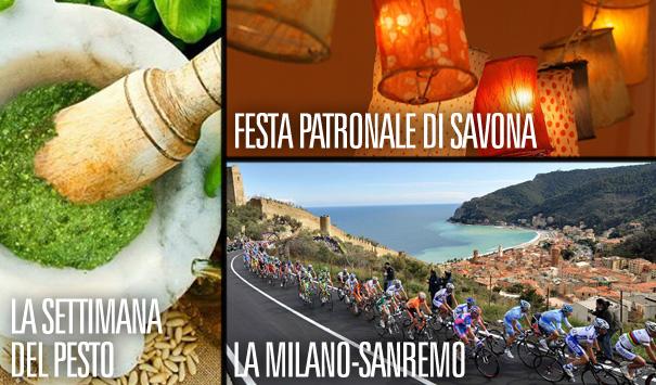 Milano-Sanremo, Salone Agrolimentare, Festa della Madonna…. scopri tutti gli eventi su SVD!