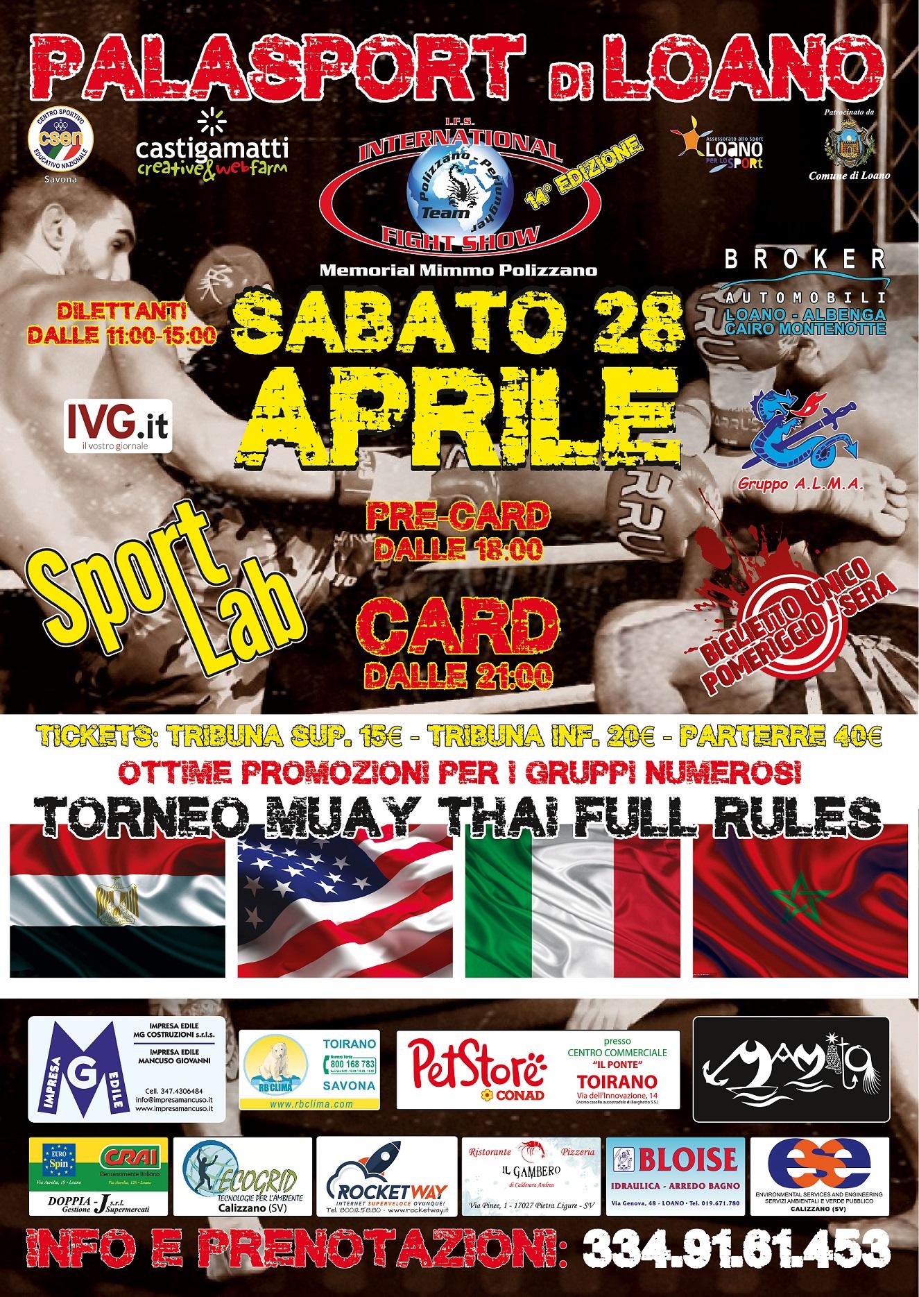 Loano-International Fight Show