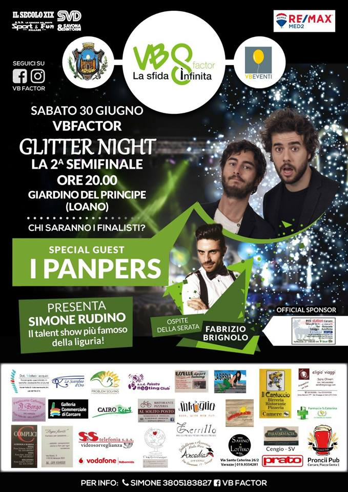 Loano-VB Factor special guest I Panpers