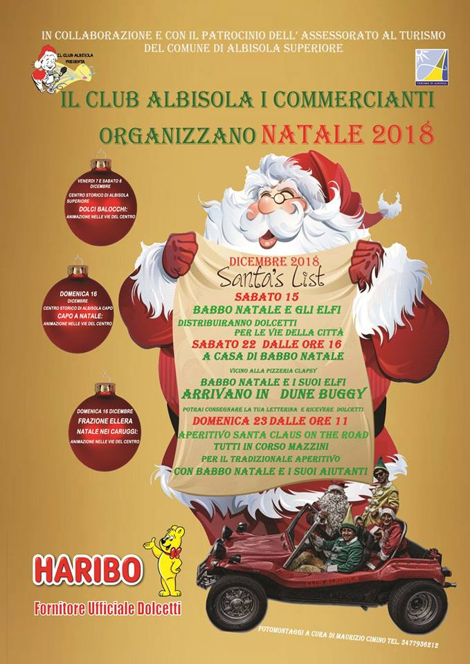 Albisola Babbo Natale On The Road