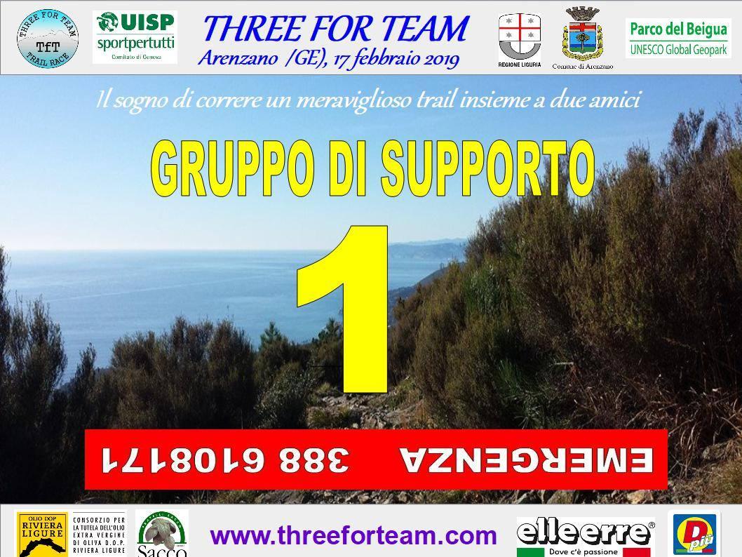 Arenzano-Three for Team