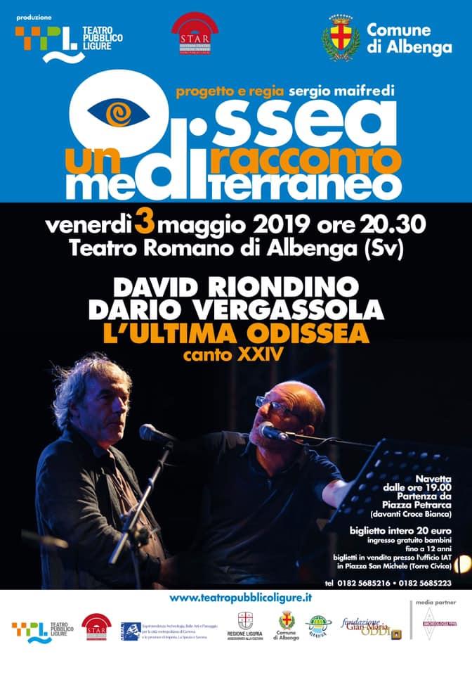 Albenga-Riondino e Vergassola in L'Ultima Odissea