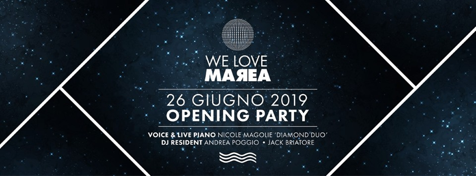 We Love Marea-Opening Party