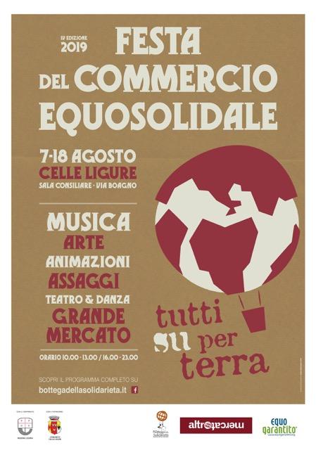 promo code a9c25 cc318 Celle Ligure-Festa del Commercio Equosolidale
