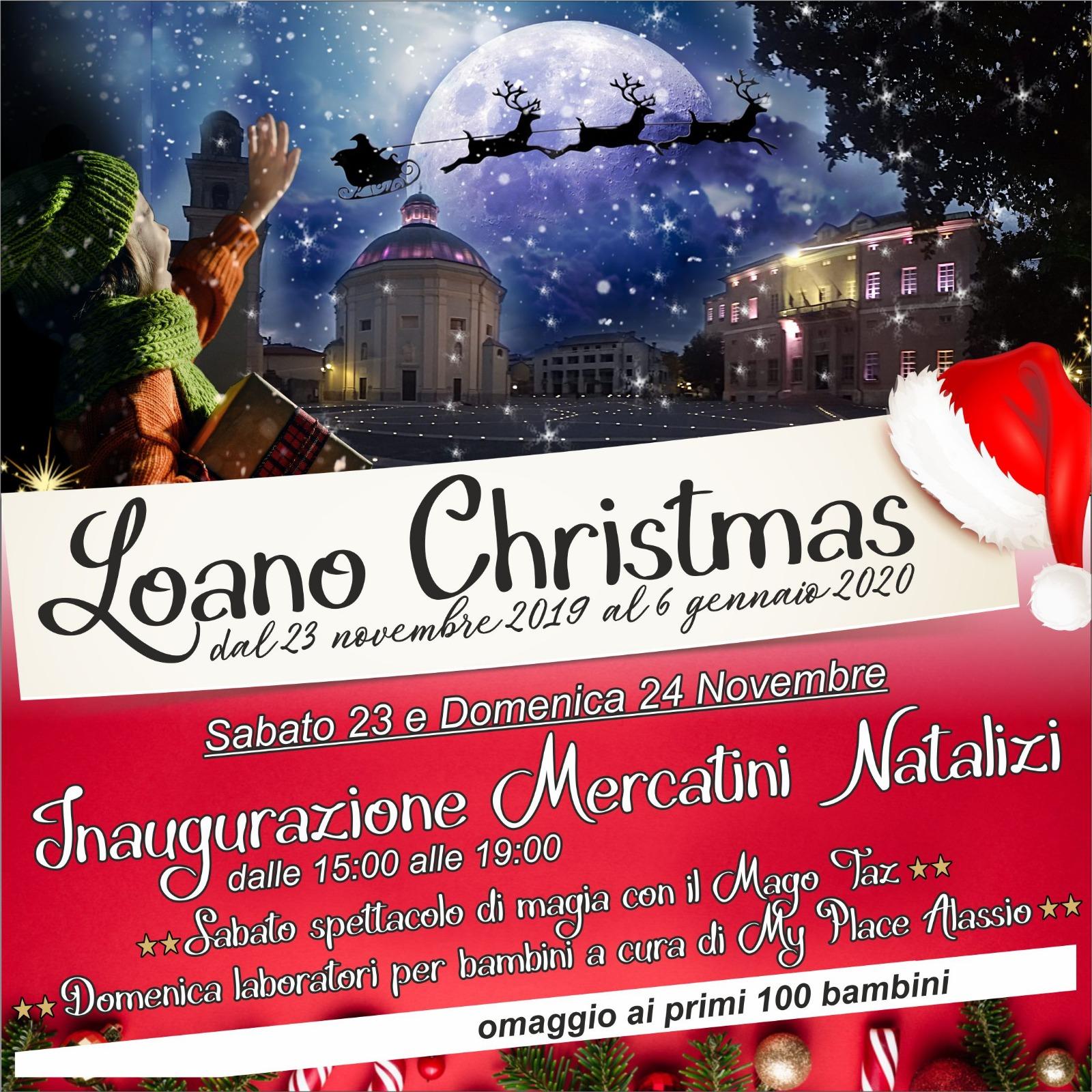 Loano-Il villaggio di Natale