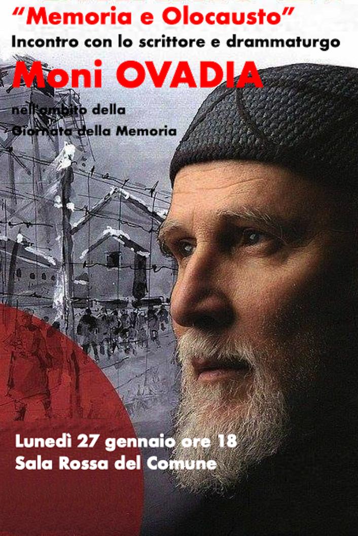 Savona-Presentazione Memoria e Olocausto di Moni Ovadia