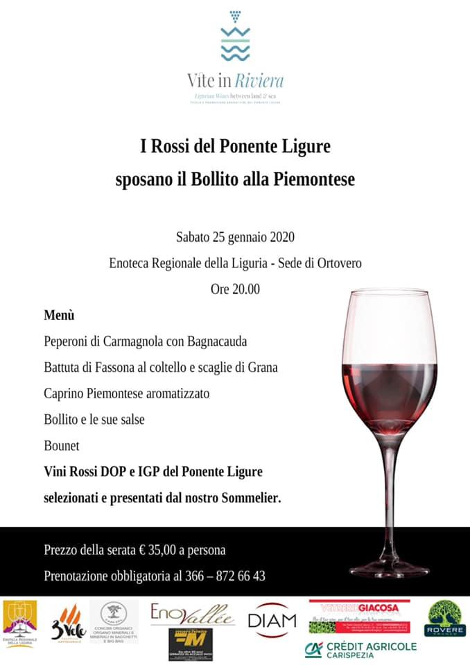 Ortovero-I Rossi del Ponente Ligure sposano il Bollito piemontese