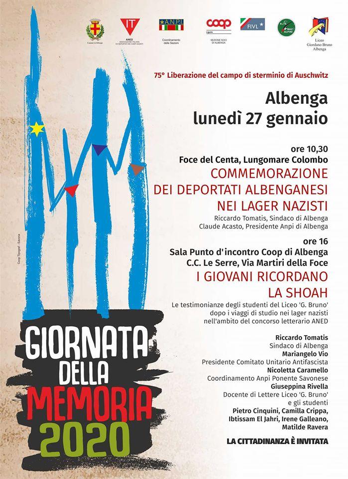 Albenga-Il giorno della Memoria