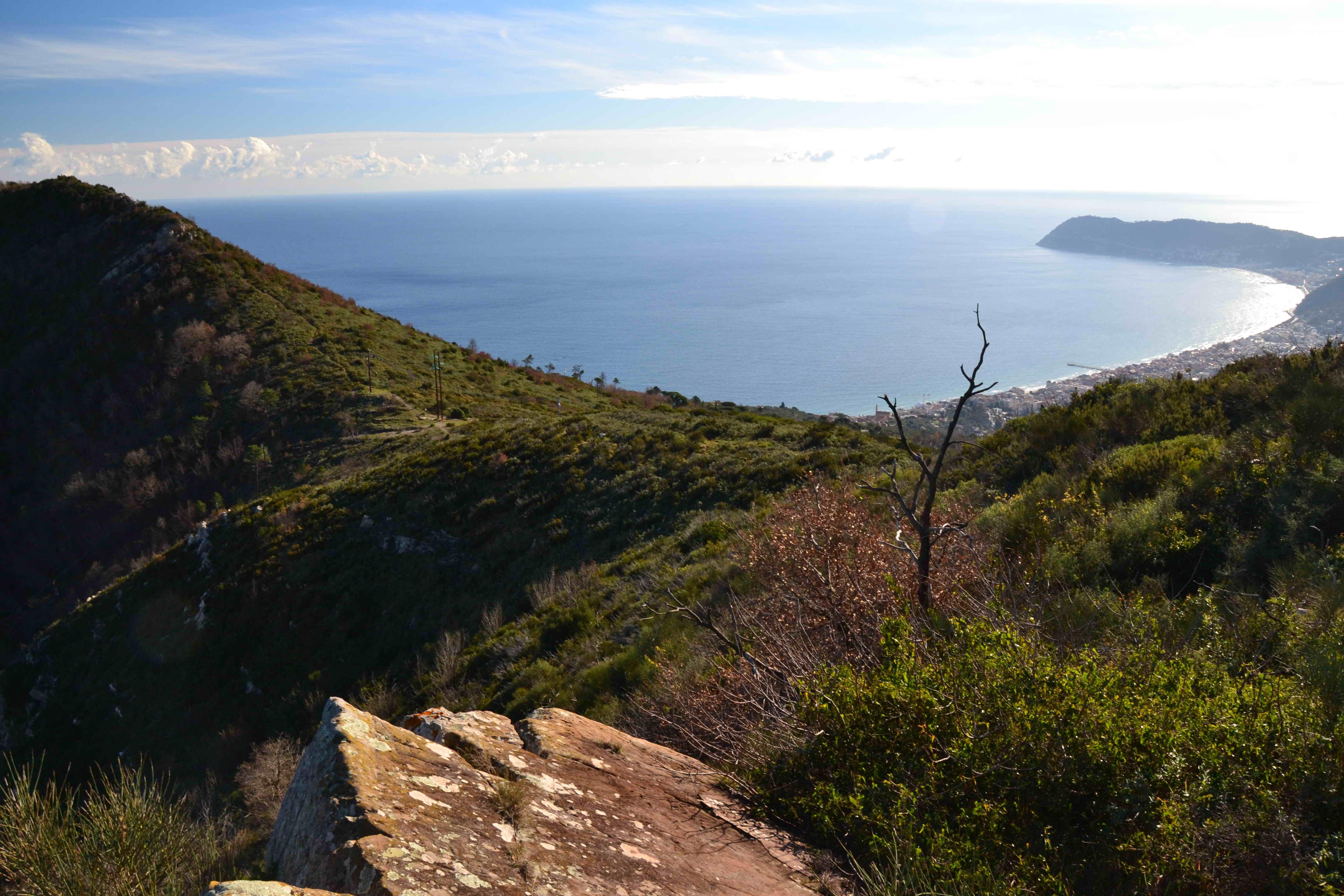 Alassio-Escursione ai monti della Baia del Sole