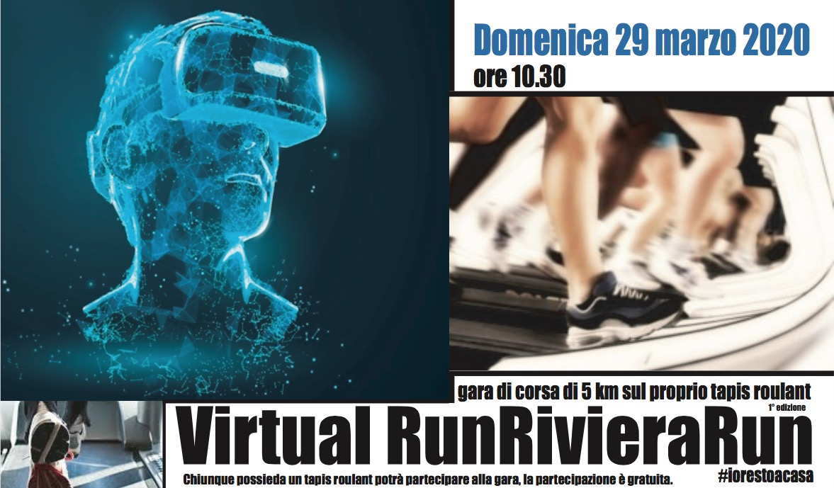 VirtualRunRivieraRun #iorestoacasa