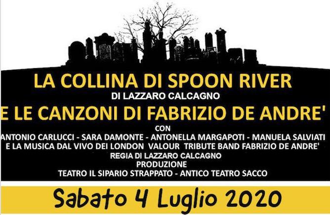Varazze-La collina di Spoon River e le canzoni di Fabrizio De Andre'