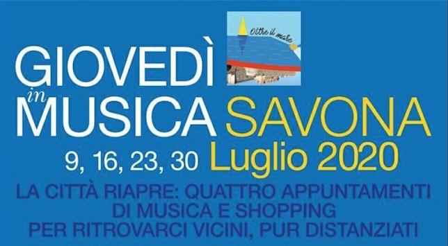 Ripartono i Giovedì di Luglio a Savona