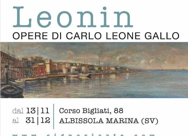 Albissola M.-Le opere di Carlo Leone Gallo